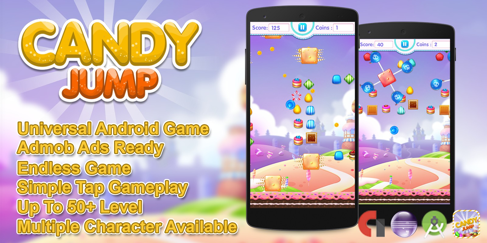 Candy Jump Android Source Code