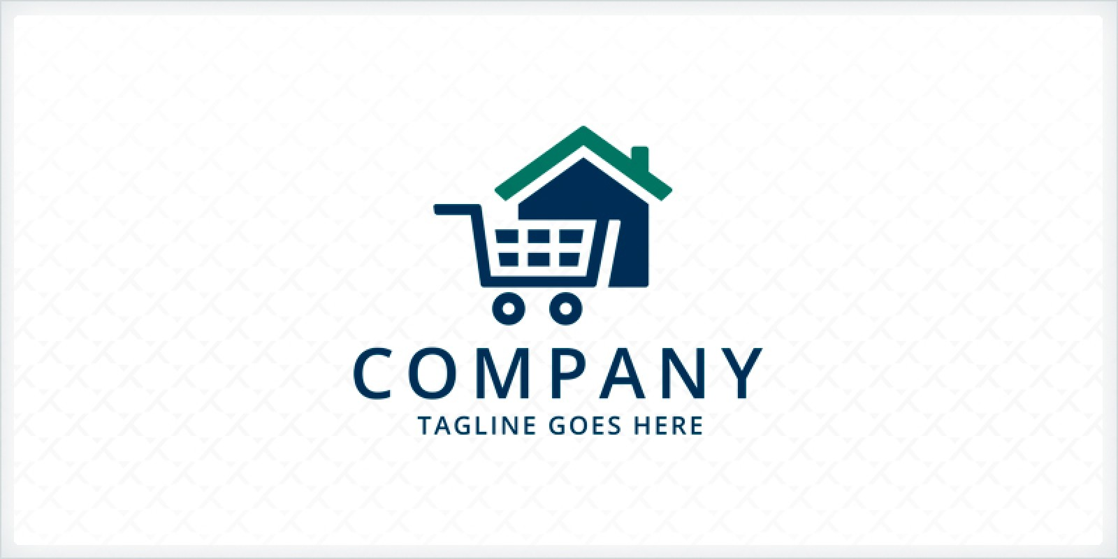Home Cart Logo Template