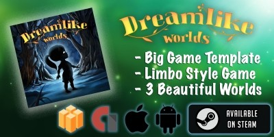 Dreamlike Worlds - Buildbox Game Template