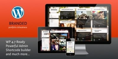 Branded - Responsive WordPress Theme