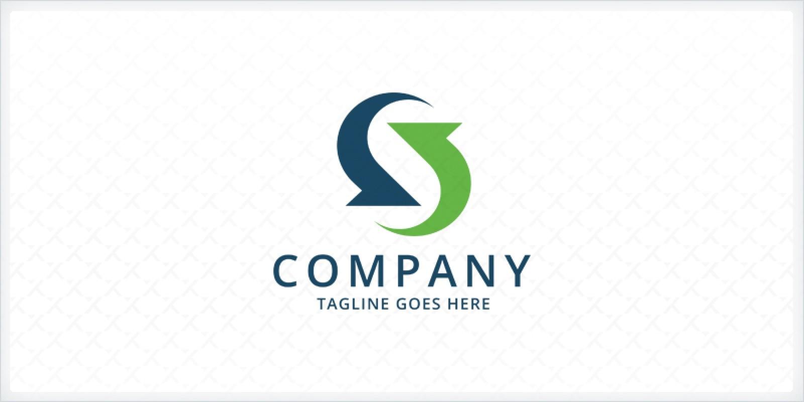 Letter S - Arrows Logo Template
