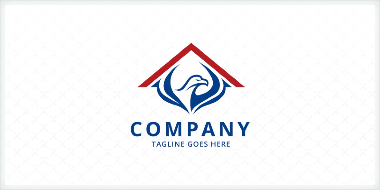 Eagle Roofing Logo Template