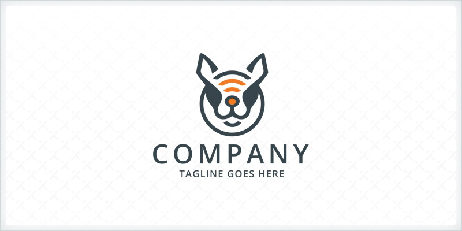 Canine - Dog Head Logo Template