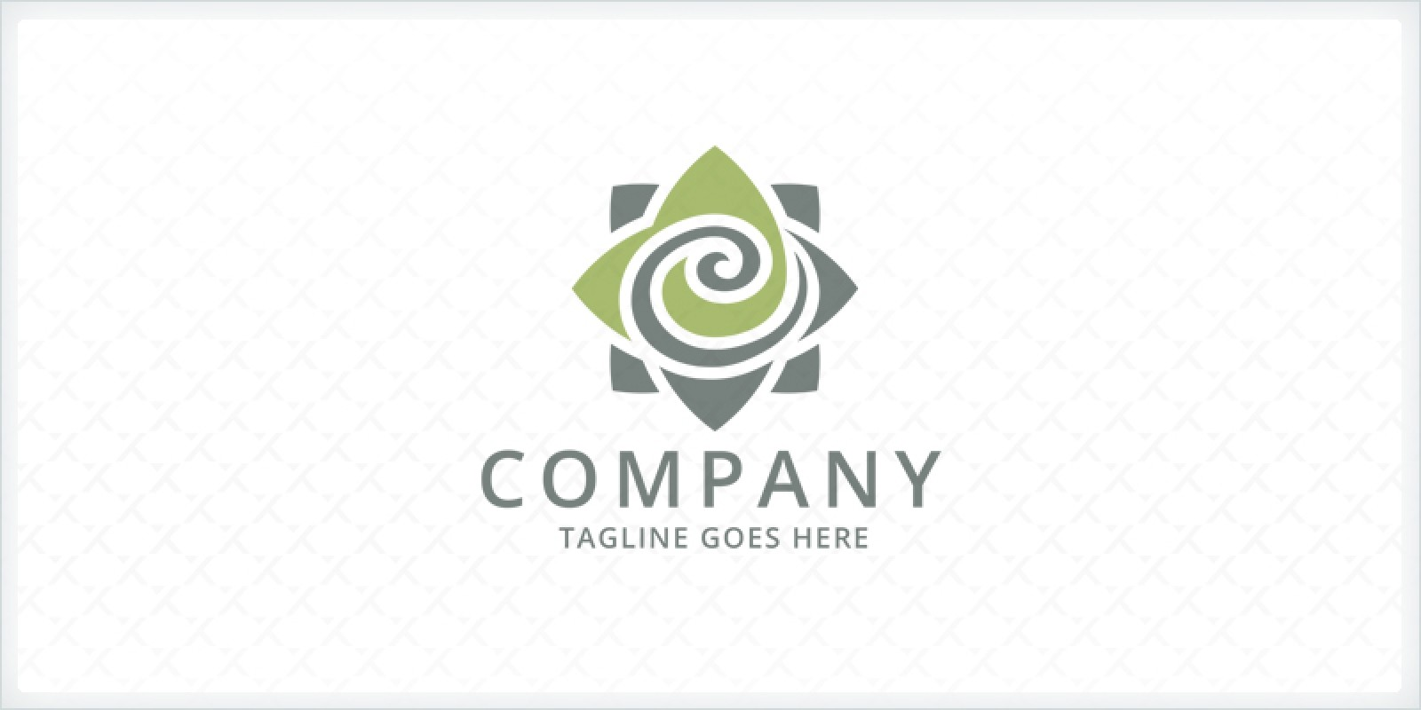Decoration Flower Logo Template