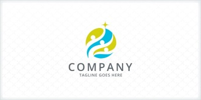 Youth Community Logo Template