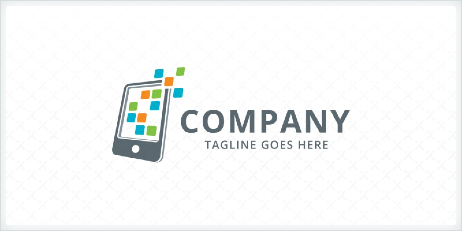 Phone Apps Logo Template