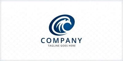 Eagle Bird Logo Template