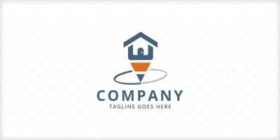 Home Pencil Logo Template