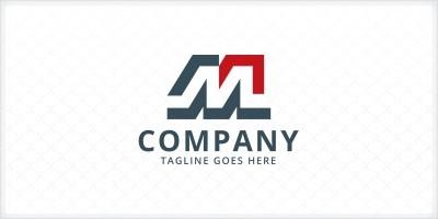 Modern Letter M Logo Template