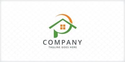 Letter P - Real Estate Logo Template