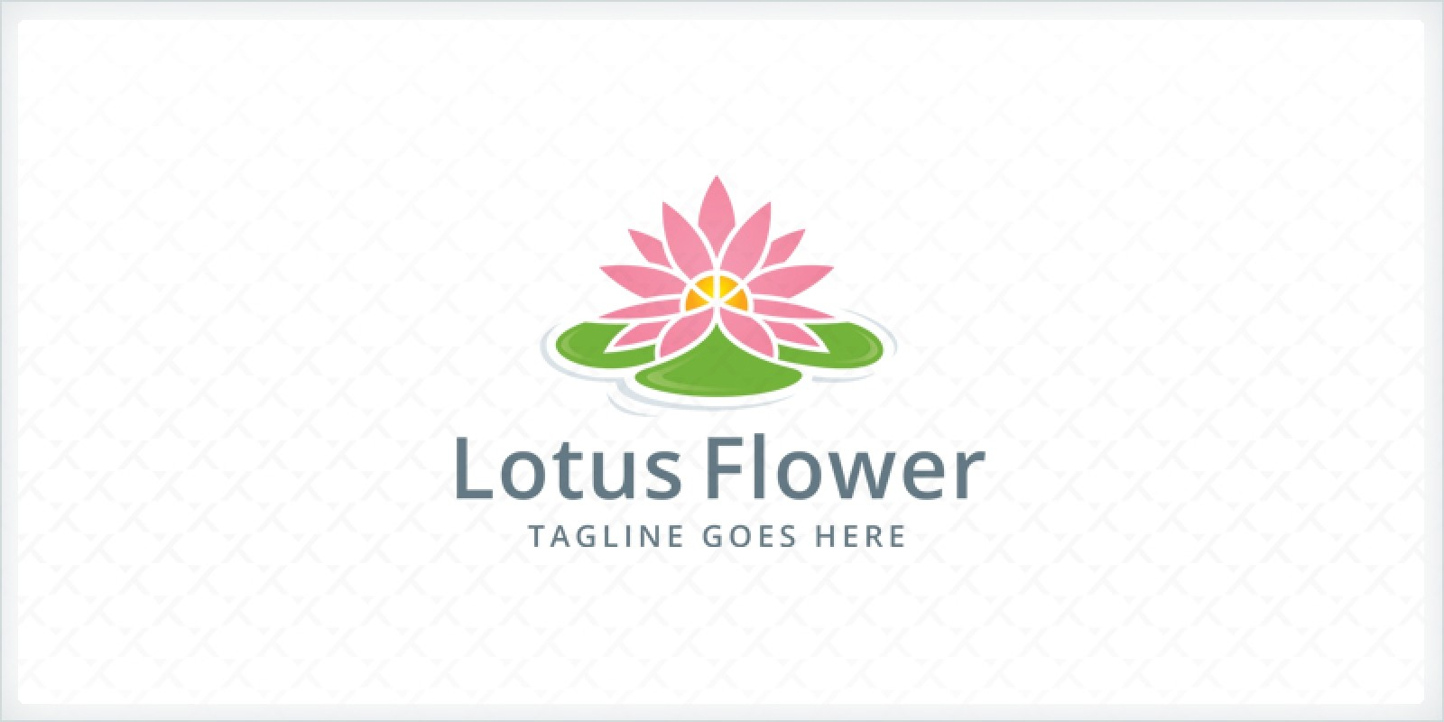 Lotus flower logo template codester lotus flower logo template izmirmasajfo
