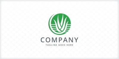 Aloe Vera Logo Template