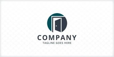 Open Door Logo Template