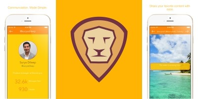 Lion - iOS Social Network App Template