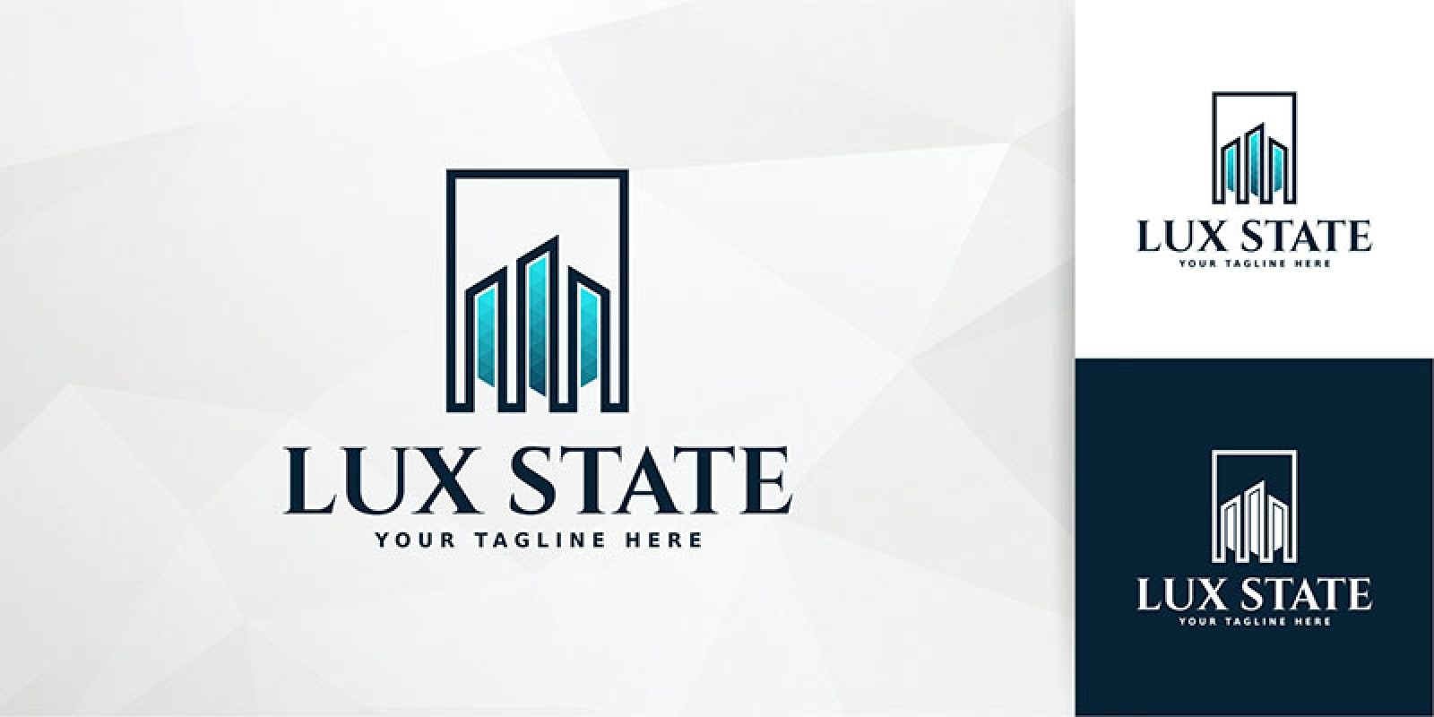 Lux State Logo Template
