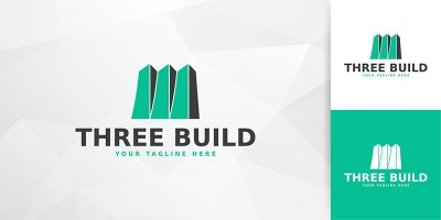 Three Build Logo Template