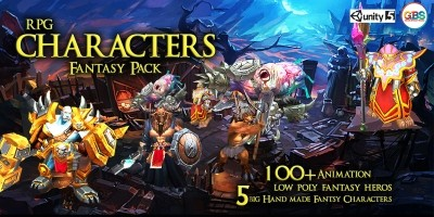 RPG Characters Fantasy Pack For Unity