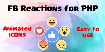 FB Reactions For PHP