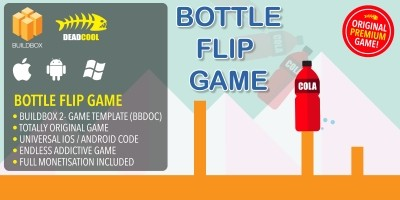 Bottle Flip - BuildBox Game Template