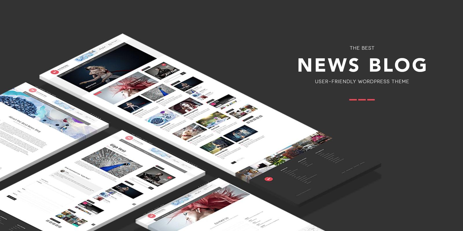 Best News Blog WordPress theme