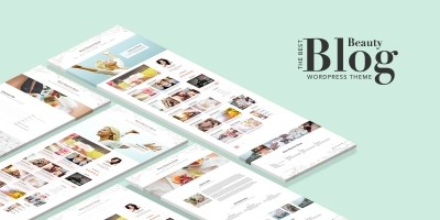 Best Beauty Blog WordPress theme