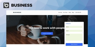 SitePoint Business WordPress Theme