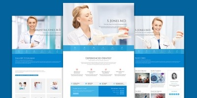 Dental Practice WordPress theme