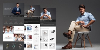 Michael - Resume And Portfolio WordPress Theme