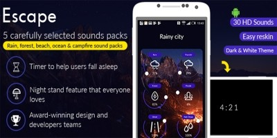 Escape Sounds Android App Source Code