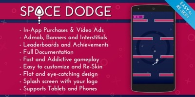 Space Dodge - Android Game Source Code