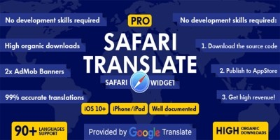 XYZ Translate - Safari Translatin Widget iOS