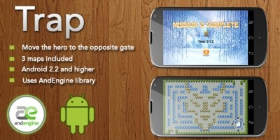 Trap - Android Game Source Code