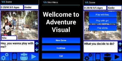Visual Adventure Novel - Android Adventure Game