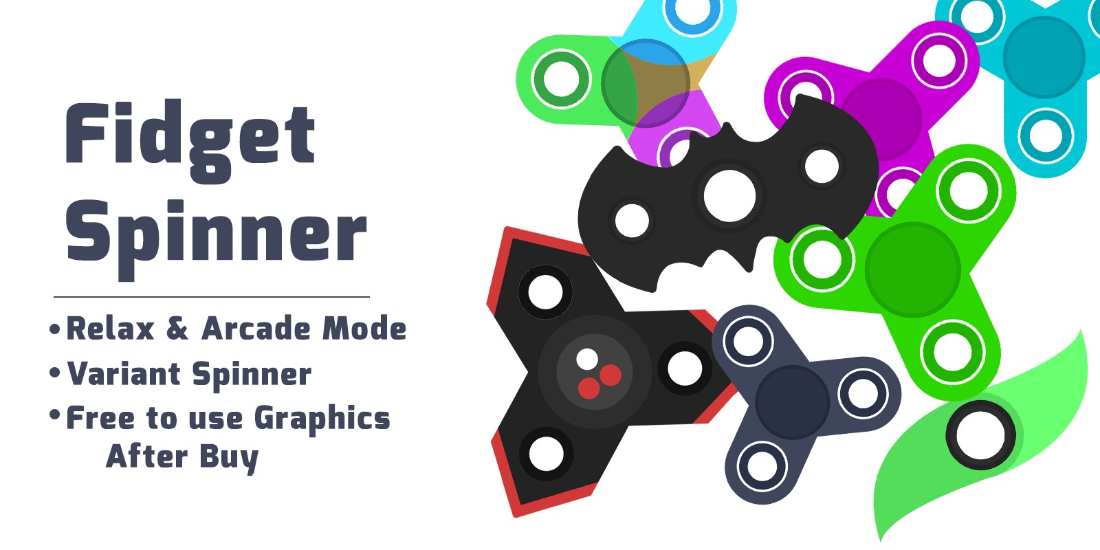 Fidget Spinner - Complete Unity Project