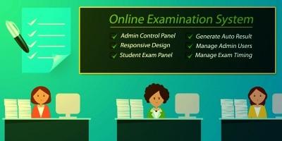 Online Examination System - PHP Exam System Script