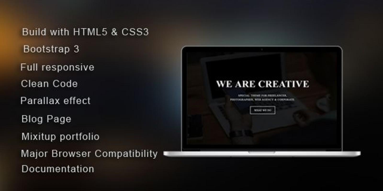 Makers - HTML5 Portfolio Template
