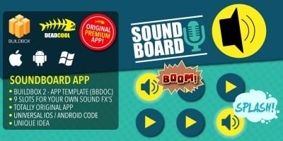 Soundboard - BuildBox App Template