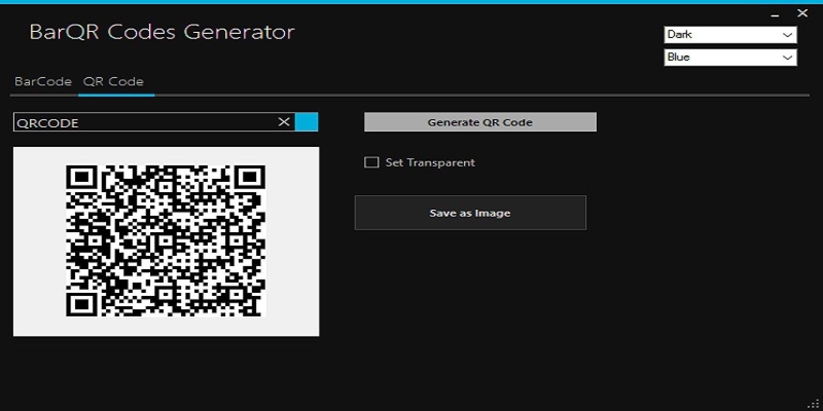 Bar Code - QR Code Generator