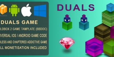 Duals - BuildBox 2 Game Template