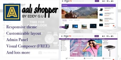 Ali Shopper - WooCommerce Theme