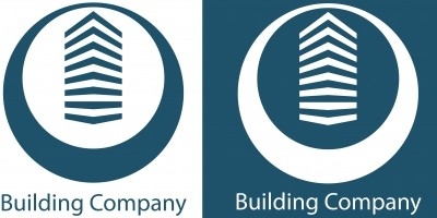 Blue Building Company - Logo Template