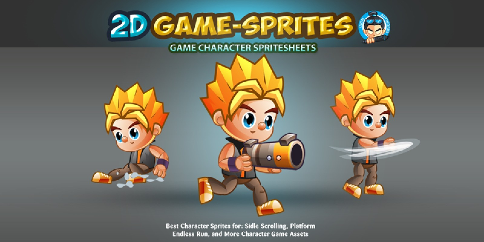2D Game Character Sprites 2