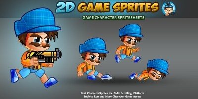 2D Game Character Sprites 6