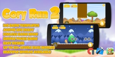 Cory Run 2 - iOS Xcode Source Code