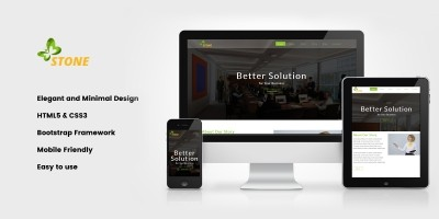 Stone - HTML Corporate Template
