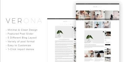 Venora - Responsive Blog Wordpress Theme