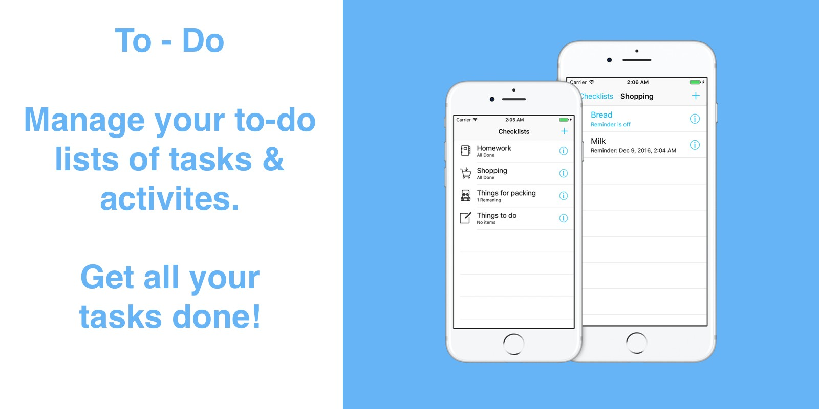 To-Do list iOS App Source Code