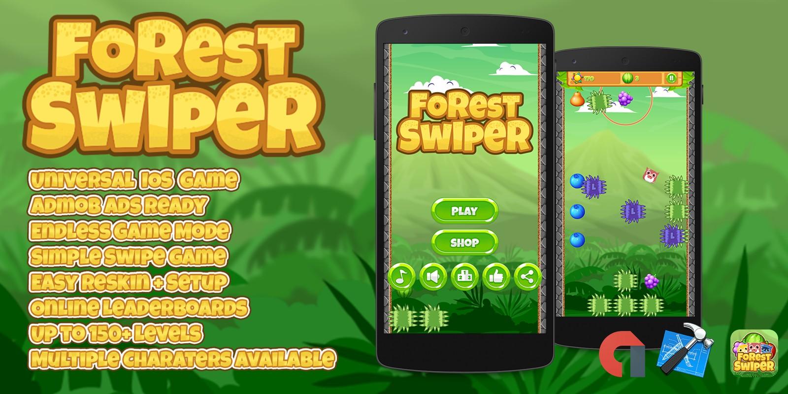 Forest Swiper - iOS Xcode Source Code
