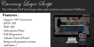 Currency Layer Script