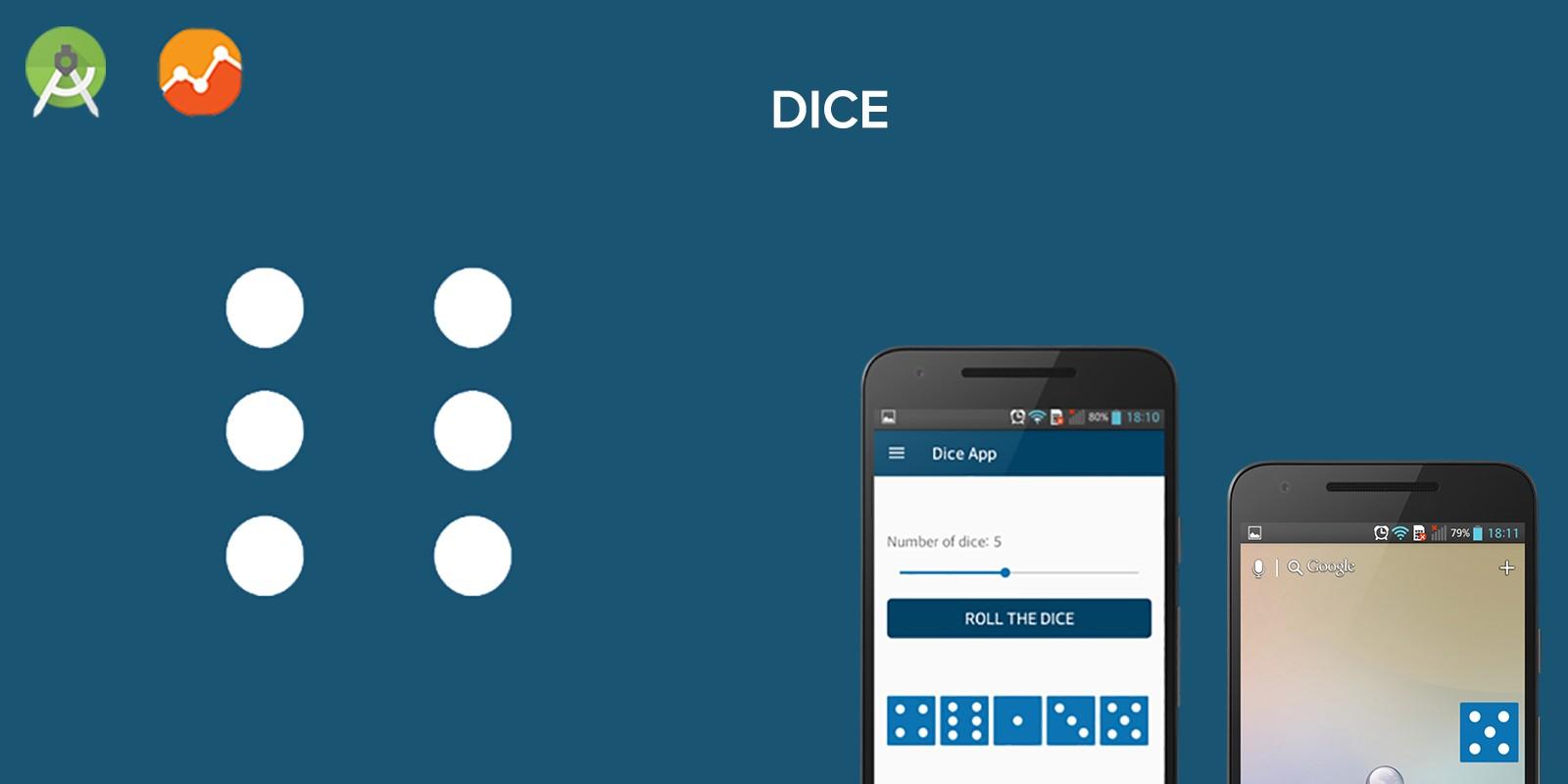 Dice Widget - Android App Source Code.